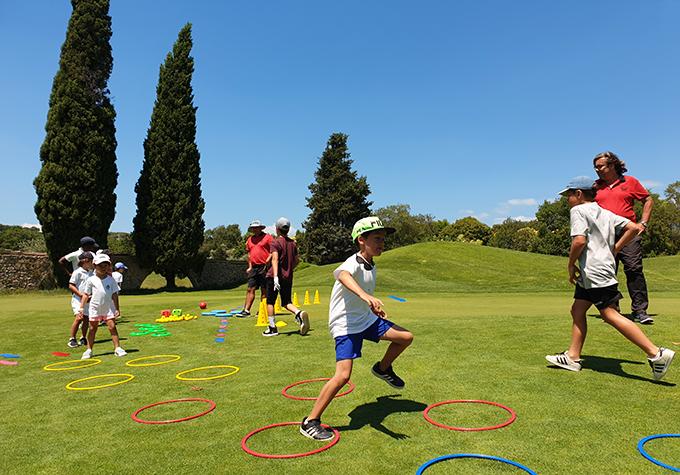 Cours Junior de golf