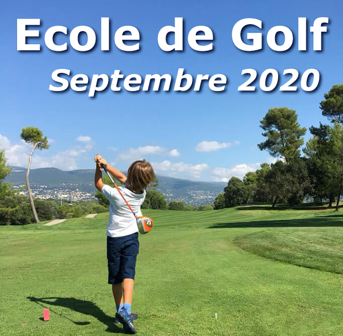 Ecole de golf Enfants à Saint Donat