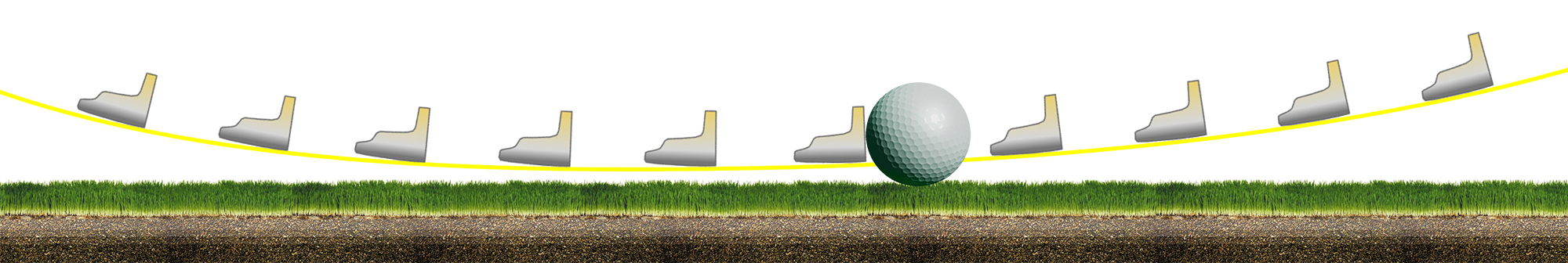carnet de visualisation : putter sur le green