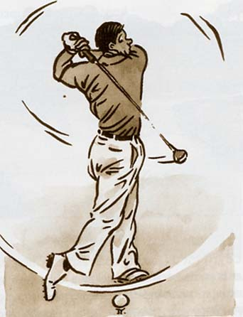 balle de golf air shot