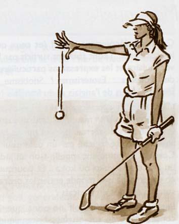 dropper pour remettre en jeu une balle de golf