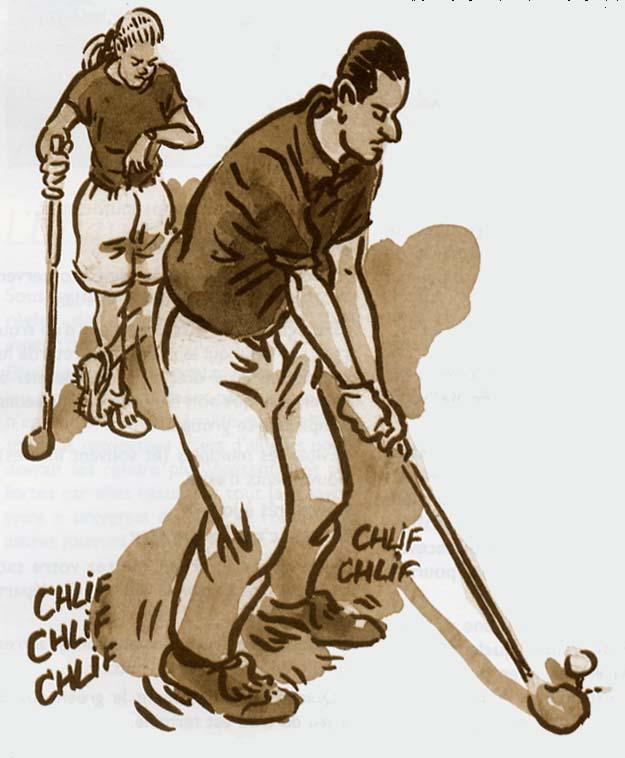 le jeu lent au golf