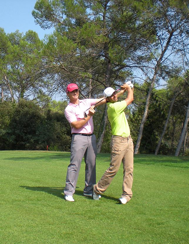 Découverte du golf et initiation en groupe