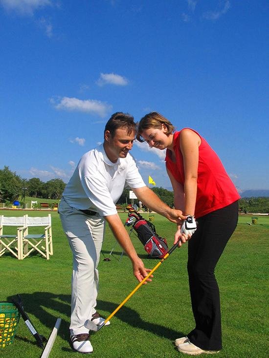 Enseignement du golf en Provence Côte d'Azur