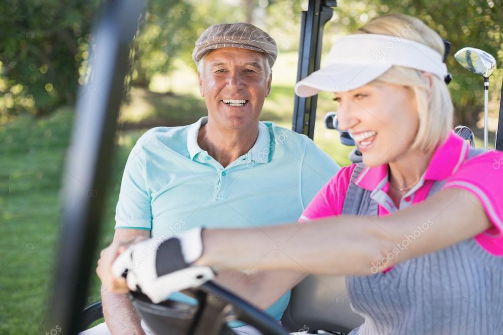 Convivialité sur le parcours de golf