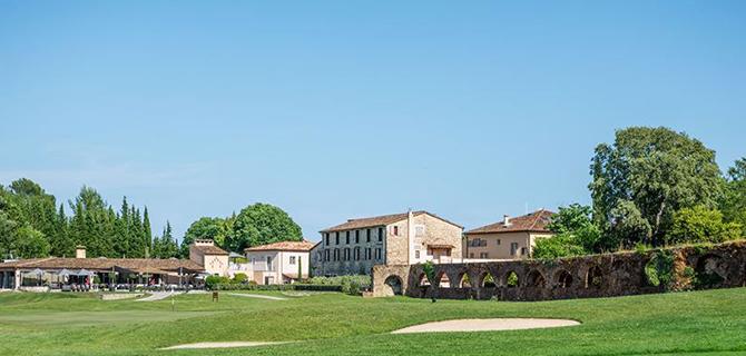Club house et parcours d'Opio Valbonne