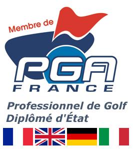 Enseignant membre de PGA France et diplômé d'Etat