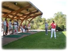 demonstration professeur golf