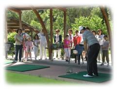 demo professeur golf