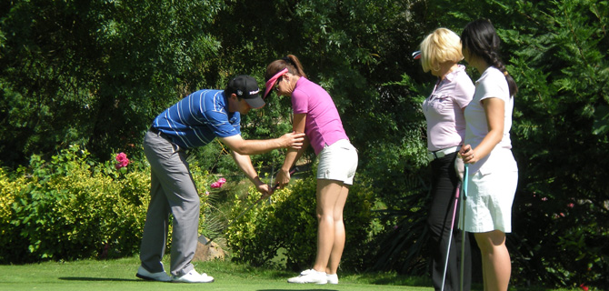 Group introductory classes - discovering golf clinics
